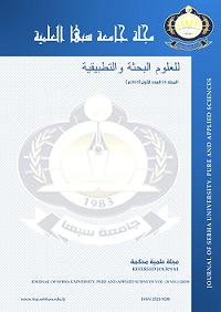 Sebha university Journal of Pure & Applied Sciences